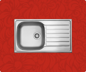 Clearance Stainless Steel Sink VEDA-100S